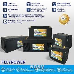 12V 100Ah LiFePO4 Lithium Battery Deep Cycle Solar for RV Golf Cart Motor Boat