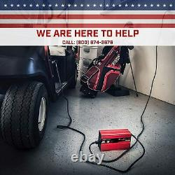 18-AMP EZGO Marathon Battery Charger 36 Volt Golf Cart-Anderson SB-50 Style Plug