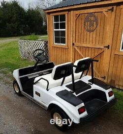 1999 Club Car DS 48 Volt Electric Golf Cart Fixer Upper 2 Year Old Batteries