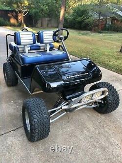 2004 CLUB CAR LABELED X GOLF CART 48V electric NEW BATTERIES RUNS GREAT