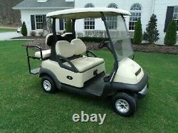 2012 Club Car Precedent Golf Cart 48V 4 seater + lights! 2018 Batteries