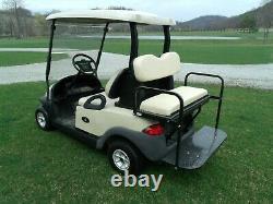 2014 Club Car Precedent Golf Cart 48V 4 seater + lights! NEW Batteries