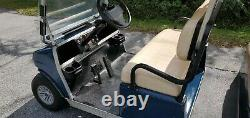 2015 Club Car Villager 6 48V Golf Cart 8 new batteries new charger & new motor