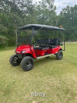 2018 Ezgo limo golf cart 48 volt new batteries