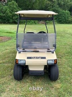 2021 Rebuild CLUB CAR Golf Cart with Lots Of New Parts New Trojan Batteries