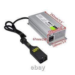 36V 18A Flat plug 36 Volt for EZ-GO TXT Golf Cart Car Battery Charger Power wise