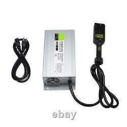 36V 18A Foot Battery Charger for EZ-GO TXT Golf Cart Club Car Yamaha LED Display