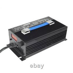 36V 18A Golf Cart Battery Charger Input 220V Powerwise Cable D Style for EZ-GO