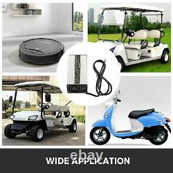 36V 18A Golf Cart Battery Charger Naked Wire Plug For Club Car Ez GO Yamaha