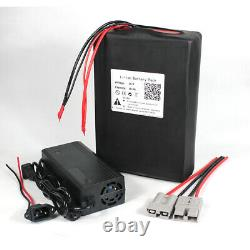 36V 18Ah Lithium Li-ion Battery Pack for Ebike Electric Tricycle Golf Cart 500W