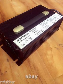 36V 20A Golf Cart Battery Charger Powerwise D Plug EzGo EZ-GO 36volt quick charg