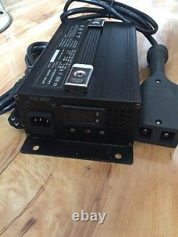 36V 36 Volt Club Car EZGO Golf Cart Battery Charger D Style Plug 18A Automatic