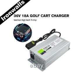 36V Battery Charger Cart Charger withPower Plug For Golf EzGo TXT Yamaha Club Car