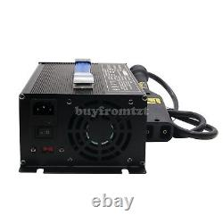 36V Golf Cart Battery Charger Input 220V+Powerwise Cable D Style for EZ-GO B