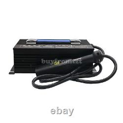 36V Golf Cart Battery Charger Input 220V +Powerwise Cable D Style for EZ-GO sz