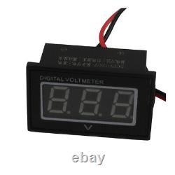 36V Golf Cart Digital Volt Meter Battery Gauge Club Car For EZGO Yamaha BLUE