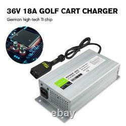 36 Volt 18A Golf Cart Battery Charger 36V Charger For Ez Go Club Car DS EZgo TXT