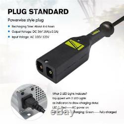 36 Volt 18Amp Golf Cart Battery Charger Ez Go Club Car Powerwise Style Plug New
