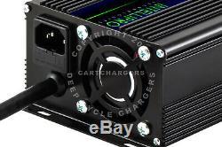 36 Volt Club Car Yamaha EZGO Golf Cart Battery Charger Desulfator Reconditioner