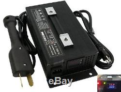 36 Volt Golf Cart Battery Charger 36V 18 Amps Ez Go Crows Foot EZGO Club Car