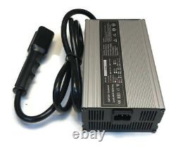 48V /15A 3-Pin Battery Charger & Plug for Yamaha Drive Golf Cart Years 2007 & Up