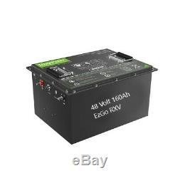 48V Battery Pack 160AH LiFeP04 Li-ion golf cart EzGo RXV 48 Volt Lead Acid Conve