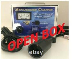 48V Club Car Golf Cart Battery Charger-OPEN BOX- 17 Amp 3 Pin Round Connector