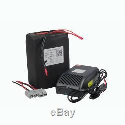 48V Volt 20Ah Lithium ion Battery Pack for Electric Bike Ebike Golf Cart 1000W