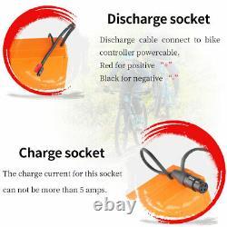 48/52/60/72V 15/20/21/25AH Scooter Battery for Wheelchair Ebike Trike Golf Cart