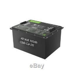 48 Volt Battery Pack 105AH LiFeP04 Li-ion golf cart Club Car DS 48V Lithium