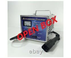 48 Volt Golf Cart Battery Charger Yamaha 3-Pin Connector-OPEN BOX