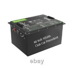 48 Volt Lithium Battery Pack 105AH LiFeP04 Li-ion golf cart Club Car Precedent