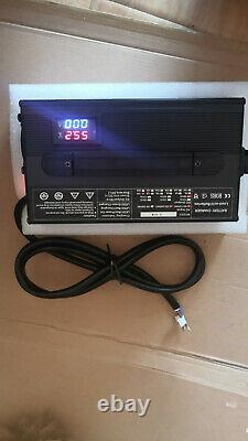 48 volt 15 Amp Club Car Golf Cart Battery Charger Round 3 Pin Plug CHARGER