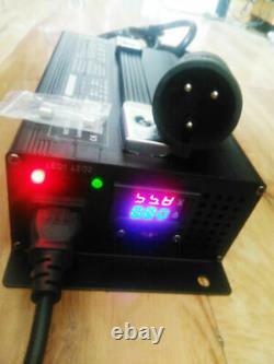 48 volt 15 Amp Club Car Golf Cart Battery Charger Round 3 Pin Plug SUPERCHARGER