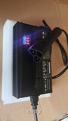 48 volt 15 Amp EZGO RXV Golf Cart Battery Charger SUPERCHARGER RXV PLUG EZGO TXT