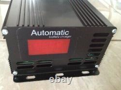48 volt Yamaha G19 G22 2 pin Golf Cart Battery Charger Desulfator Reconditioner