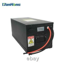 48v 48 Volt Lithium Battery 100AH LiFeP04 Li-ion golf cart Club Car PRECEDENT