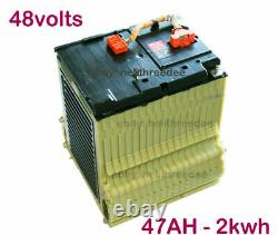 48v 4kwh 94AH Chevy Volt Lithium Ion Battery for Golf Cart with 15A Charger