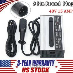 48v for Club Golf Cart Battery Charger Connector 48volt 15Amp Round 3Pin Plug