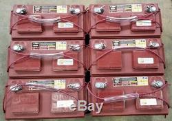 6 PACK Trojan 30XHS 12V 12 Volt Golf Cart Battery RV marine solar deep cycle GEM