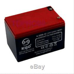 6x 12V 14AH Battery SCOOTER GOLF CART BUGGY Disability Wheelchair 15010097mm