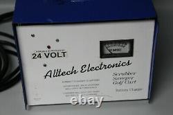 Alltech Electronics 24V Scrubber Sweeper Golf Cart Battery Charger