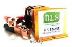 BLS-12/24BW 12V 24V 12+24 Volt Golf Cart Battery Life Saver Desulfator Renew NEW