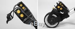 Bat Caddy X3R SILVER Electric Golf Bag Cart Caddy with 12V 36Ah Battery & Remote
