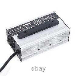 Battery Charger Fit For Club Car 48V 15 AMP Golf Cart 48 Volt Round 3 Pin Plug