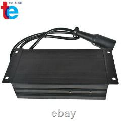 Battery Charger Fits For Club Car 48V 15 AMP Golf Cart 48 Volt Round 3 Pin Plug