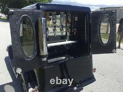 Black 2004 streetrod roadster 2 passenger seat custom golf cart 48v new battery