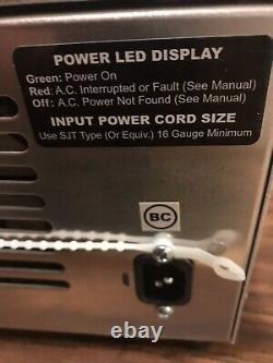 ClubCar DS Golf Cart 36 Volt 18 Amp DPI GenIV Battery Charger -Crowfoot Handle