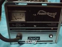ClubCar Golf Cart 48 volt 13 Amp Battery Charger 3 pin round Handle- model 2