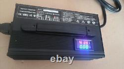 Club Car DS Golf Cart 36 Volt 18 Amp DPI Battery Charger Crowfoot Handle